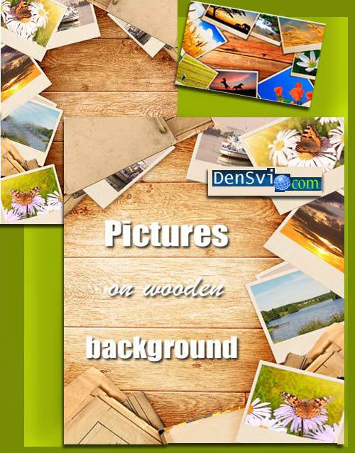 Фоны photoshop фотографии на деревянных