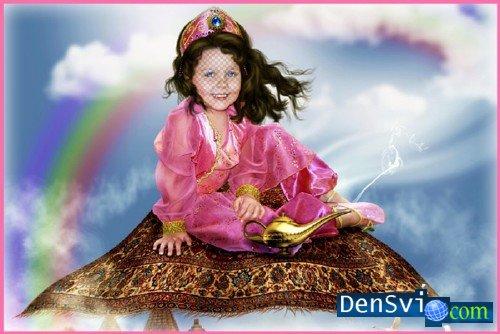 Шаблон фотошоп детский костюм