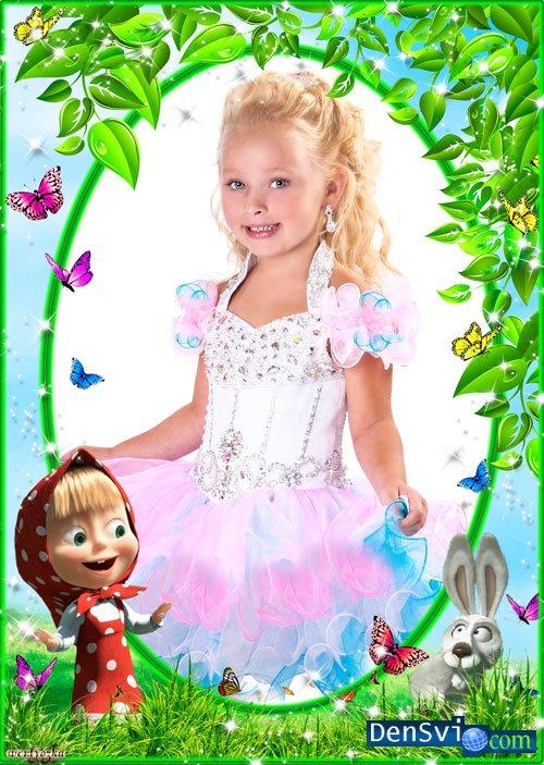 Детские рамки фотошоп фотоальбом с