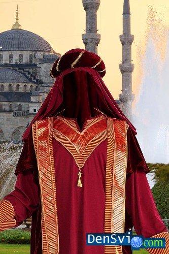 Шаблоны костюмы фотошоп мусульманин