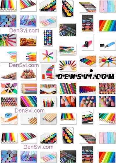 Фоны фотошоп цветные карандаши
