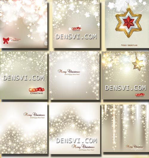 ���������� ���� � �������� | Spangle Christmas vector