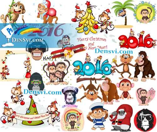 символ года 2016 года картинки