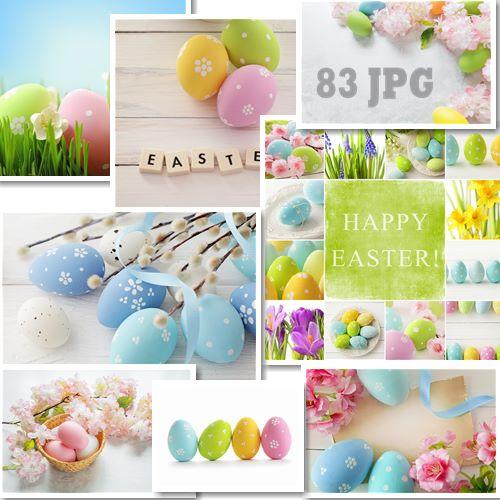 Пасхальный растровый клипарт Easter raster