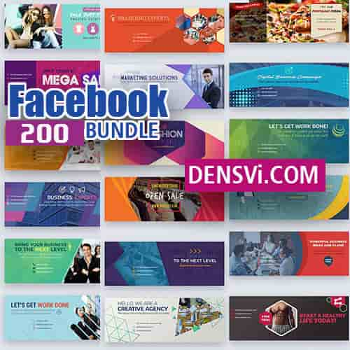 Facebook cover 200 PSD free download