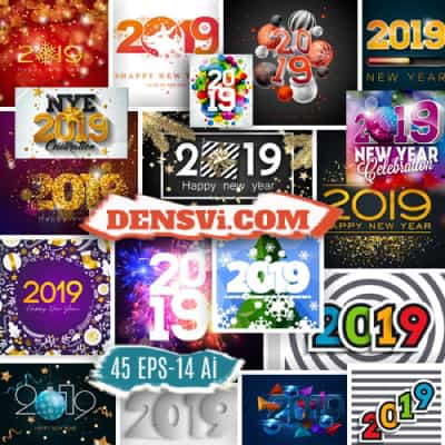 2019 vector with flyers 59 EPS-Ai designs free download