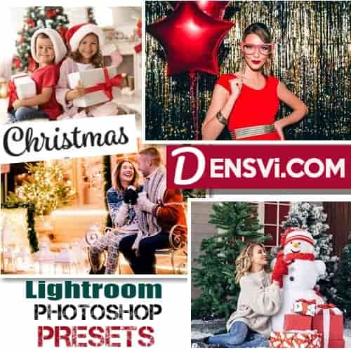 Christmas Lightroom Photoshop presets free download